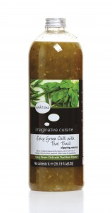 Sweet Green Chili & Thai Basil Dipping Sauce 1 L